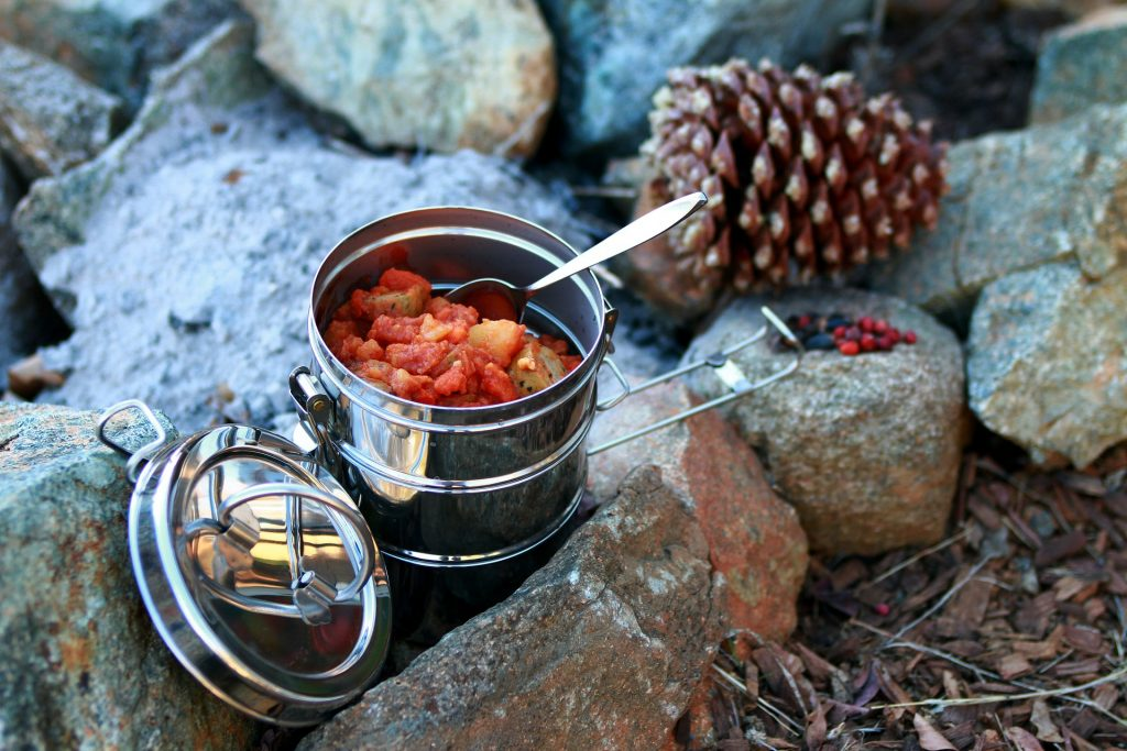 How to Store Food When Camping - Stew